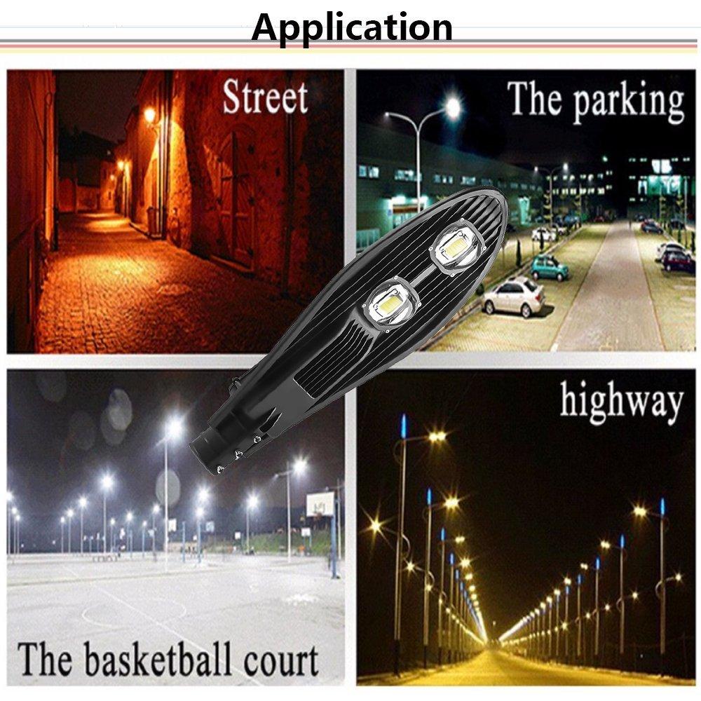Đèn đường led 100w dùng chiếu sáng công viên, sân vườn, công viên, chiếu sáng đường
