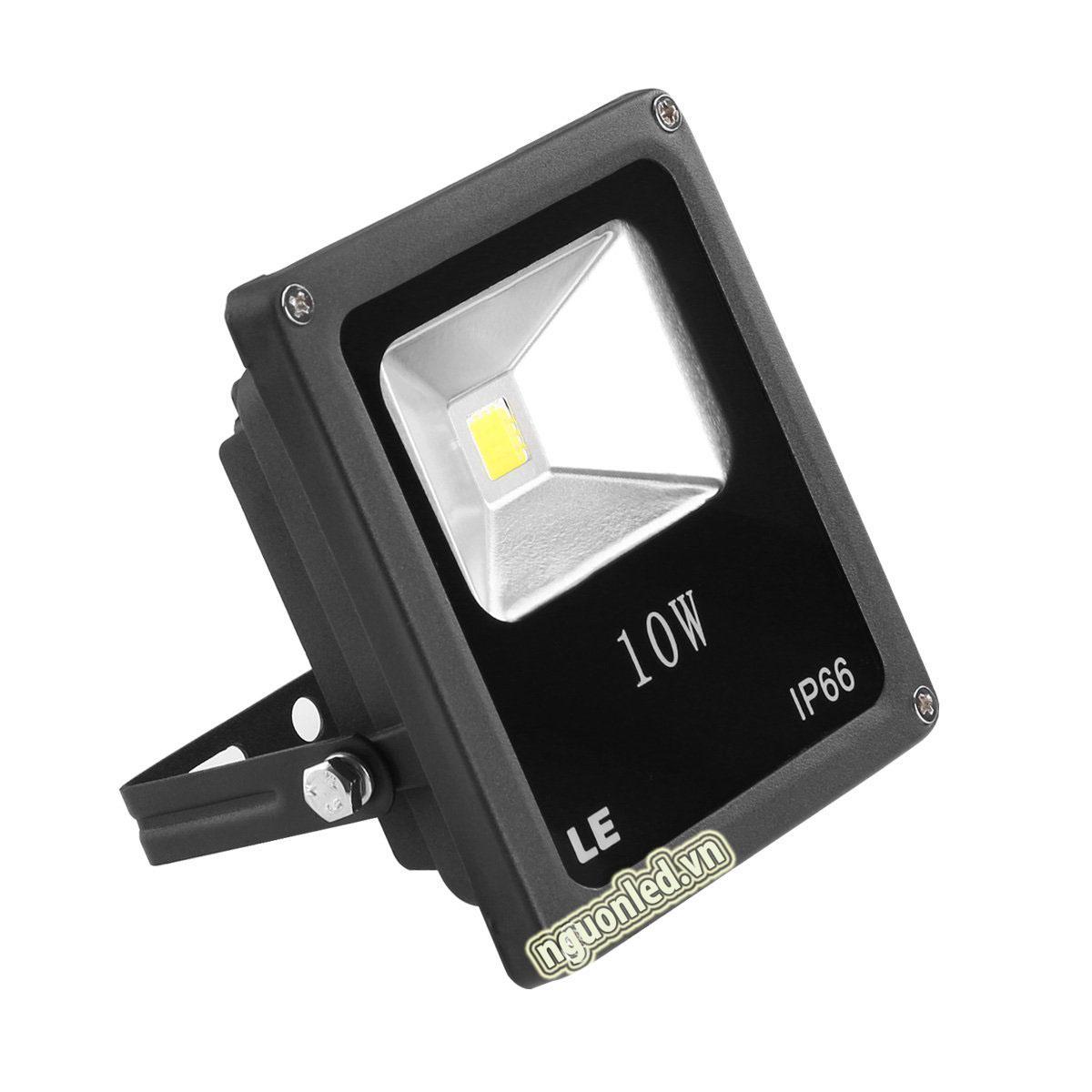 Đèn pha 10W mỏng, loại tốt, bảo hành 2 năm mua tại nguonled.vn