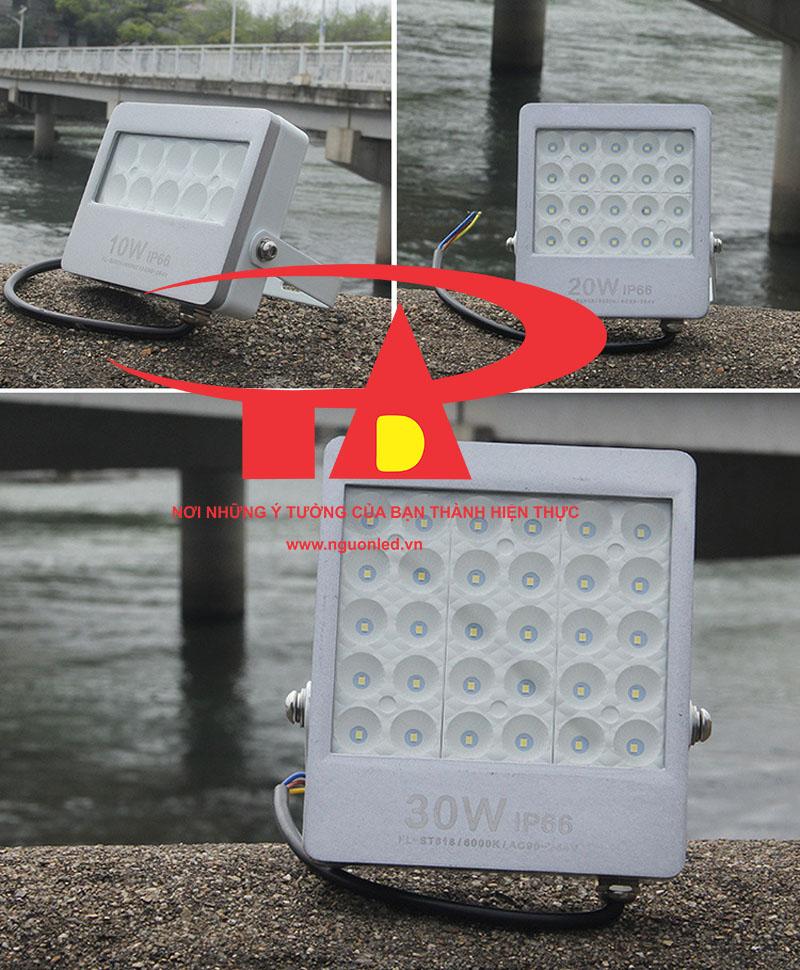 Đèn pha led 30W SMD 3030 loại tốt, giá rẻ, chất lượng, dùng chiếu sáng ngoài trời tại nguonled.vn
