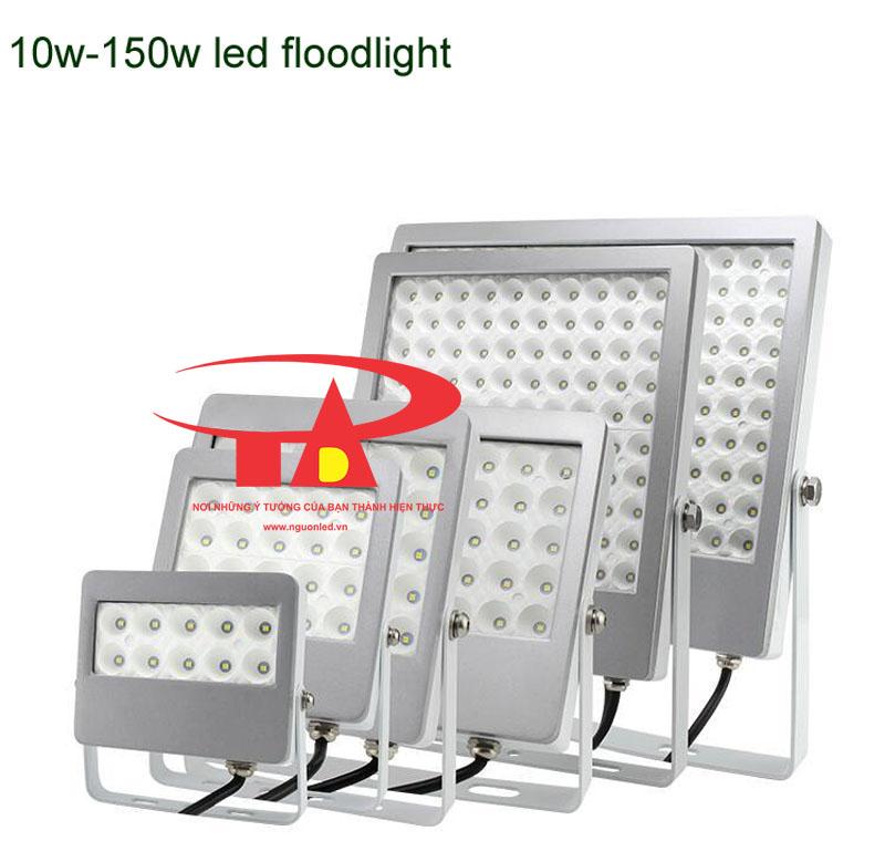Đèn pha led 10W,30W50W SMD 3030 loại tốt, giá rẻ, chất lượng, dùng chiếu sáng ngoài trời tại nguonled.vn