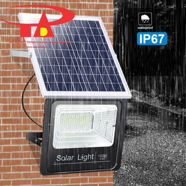 đèn pha led NLMT 100w chiếu sáng sân vườn loại tốt