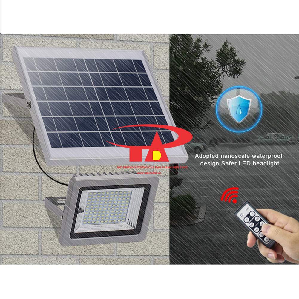 nguyên tắc làm việc của đèn led pha năng lượng mặt trời 100w tuổi thọ cao