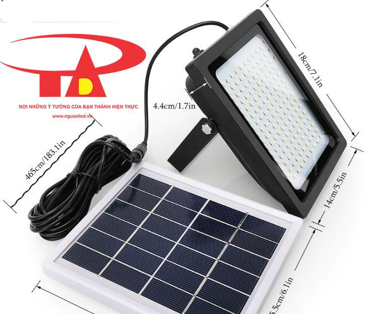 đèn led pha năng lượng mặt trời 150 led loại tốt, giá rẻ tphcm