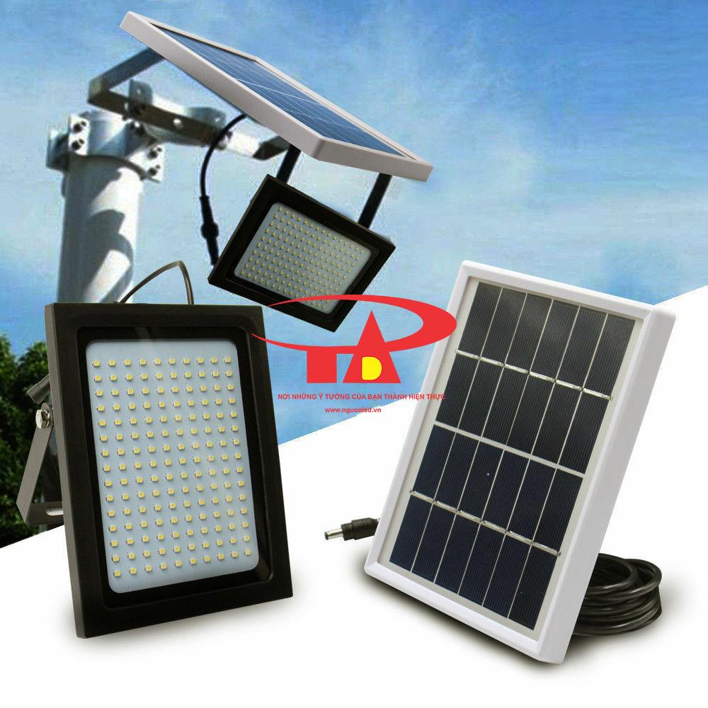 ứng dụng đèn led pha 200w năng lượng mặt trời cho chiếu sáng kho bãi