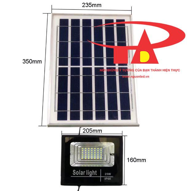 đèn led pha chạy bằng NLMT 25w nhập khẩu, chiết khấu cao