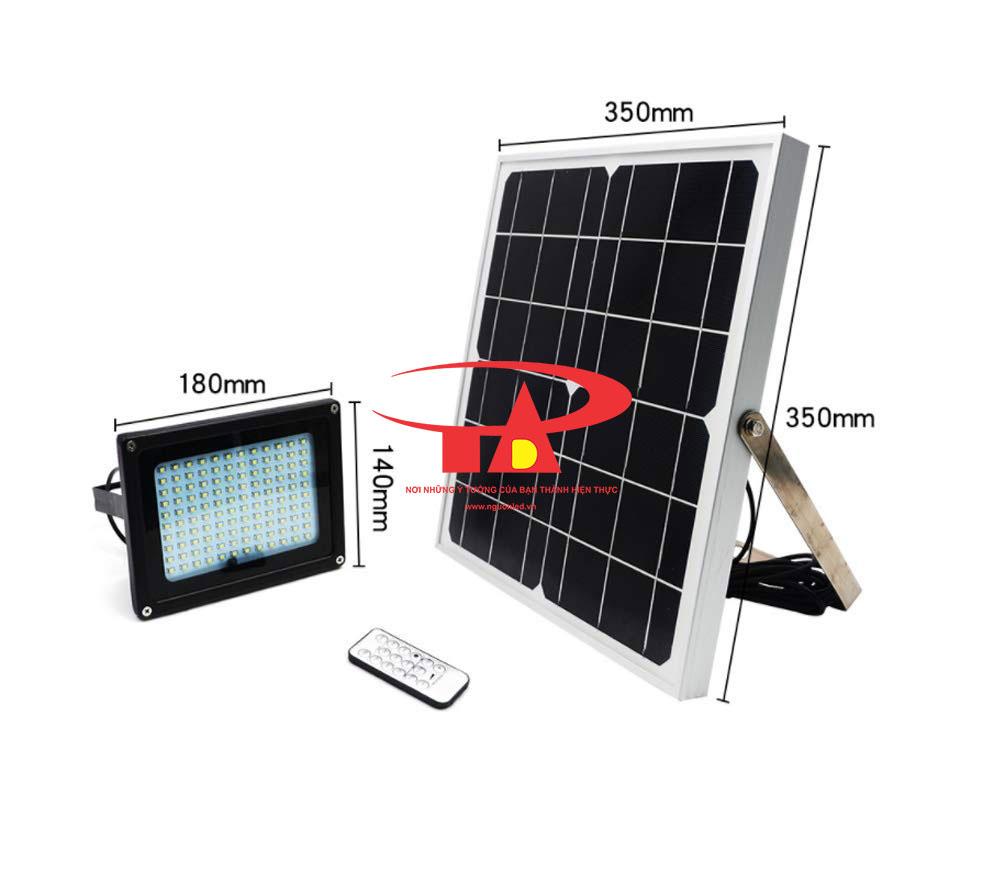 đèn pha led năng lượng mặt trời 120 led chất lượng cao, giá rẻ