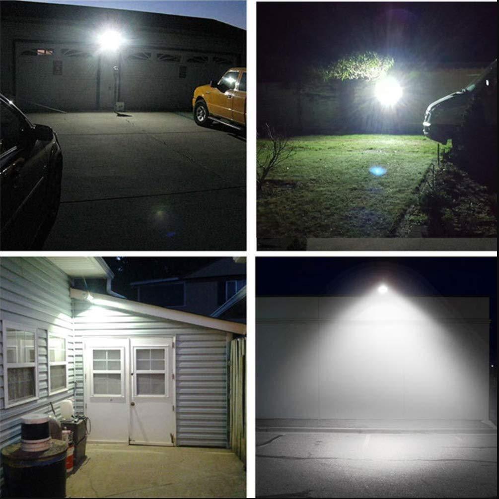 đèn led pha năng lượng mặt trời 60w ứng dụng trong chiếu sáng sân vườn
