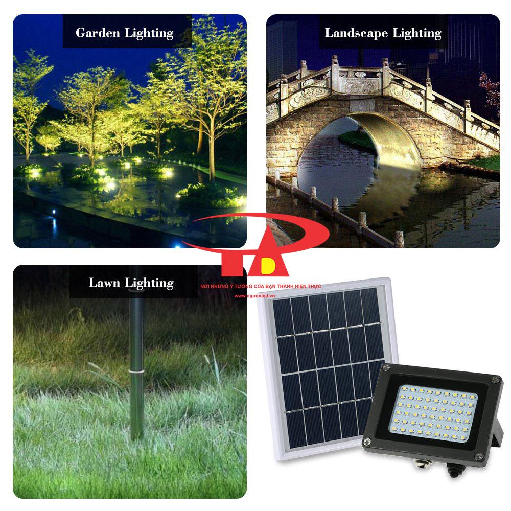 ứng dụng của đèn pha led NLMT 54 led