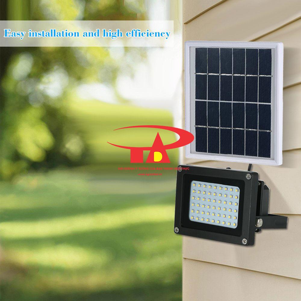đèn led pha năng lượng mặt trời 150 led chống thấm nước, giá thành rẻ