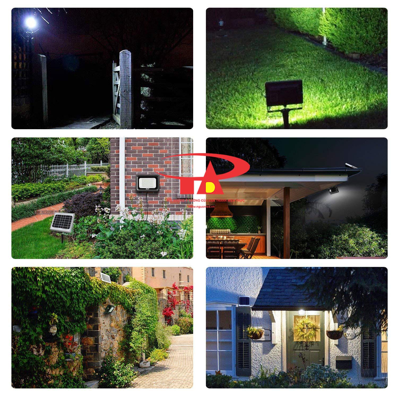 ứng dụng đèn led pha NLMT 100w dùng ngoài trời