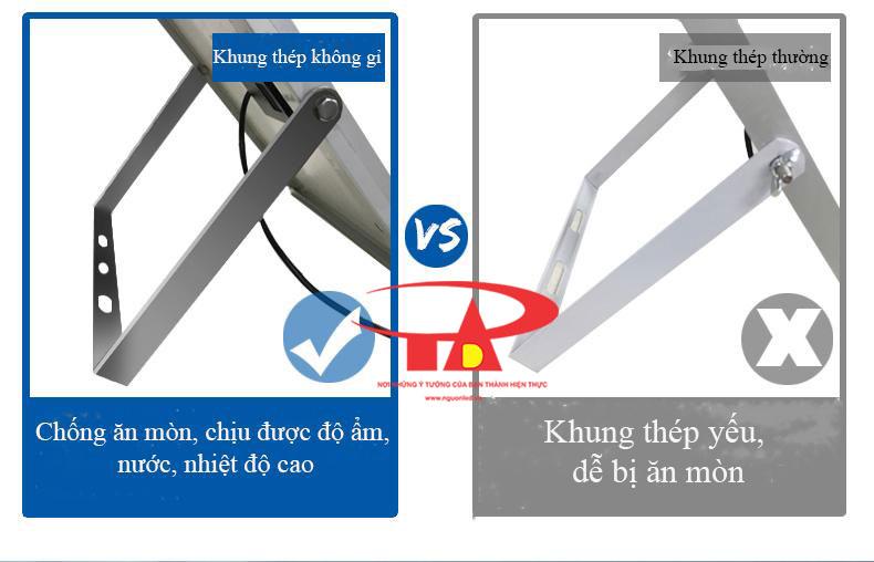 ưu điểm đèn led pha nlmt không tốn điện