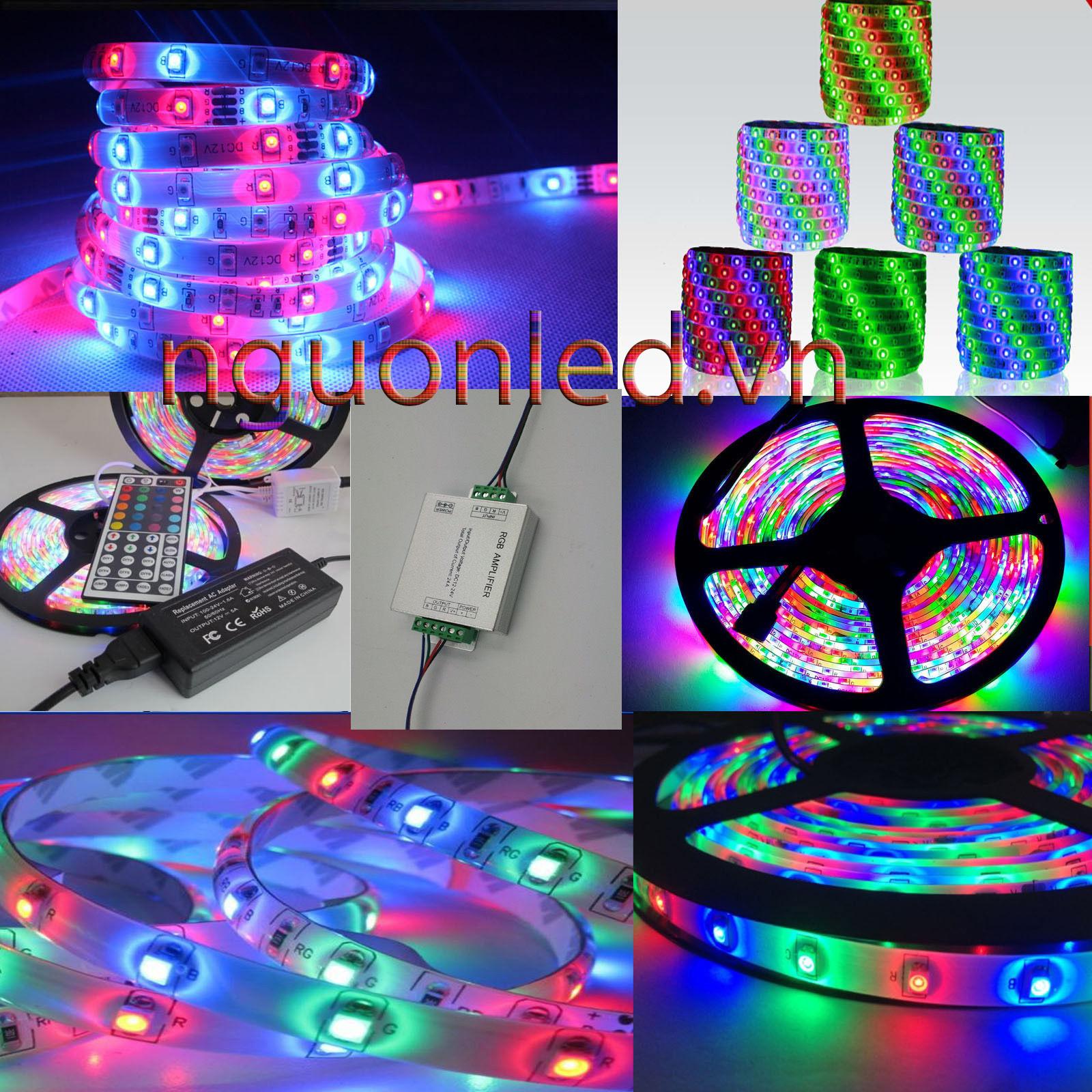 led cuộn 5m 3528 loại tốt dùng cho quảng cáo và trang trí ánh sáng