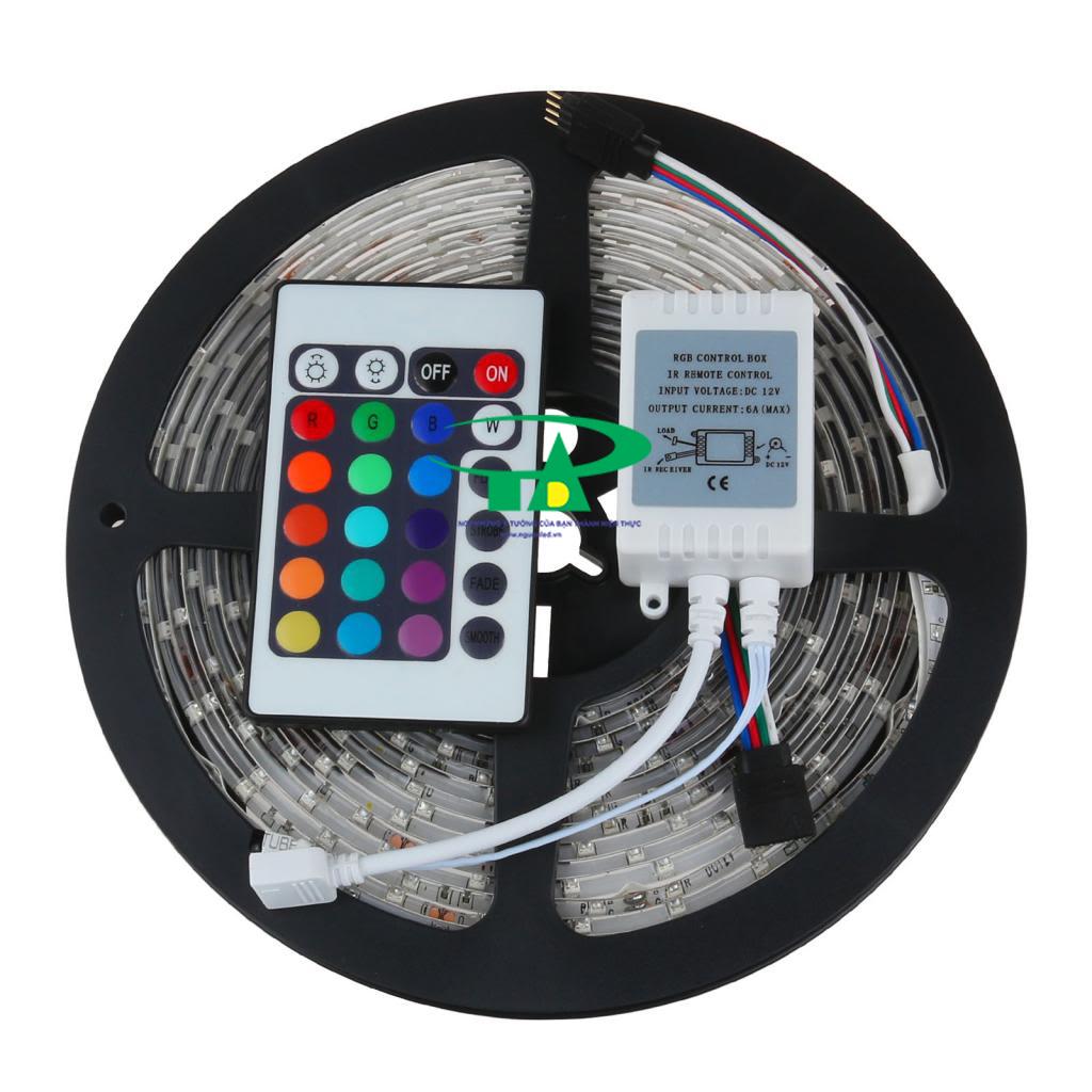 Bộ điều khiển đèn led dây RGB