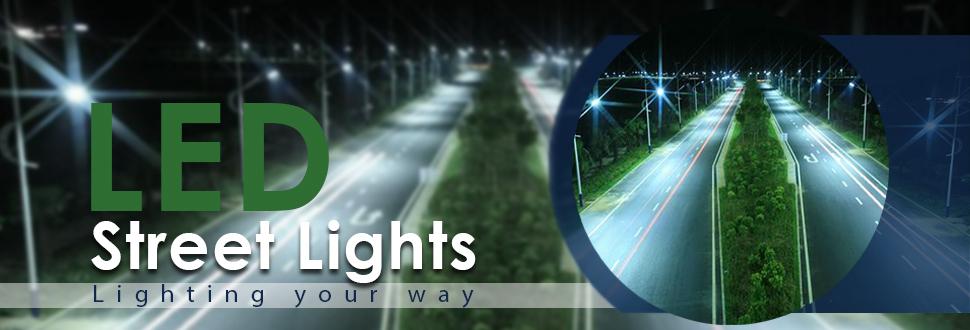 Đèn đường led nichia chính hãng bảo hành 5 năm