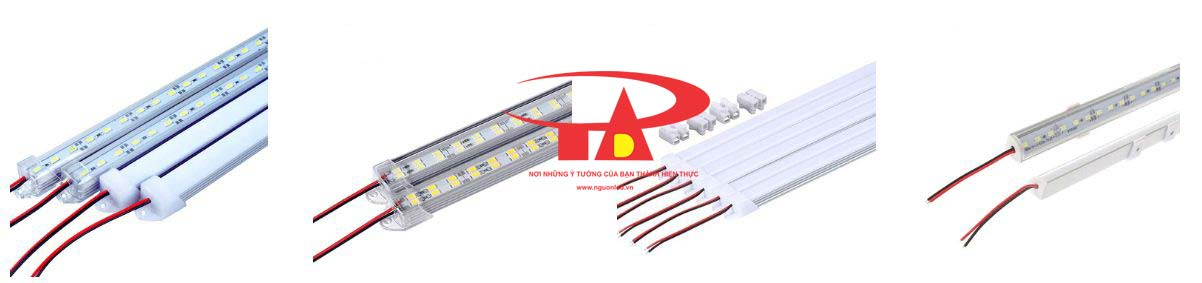Xem đèn led thanh nhôm dùng nguồn 12V