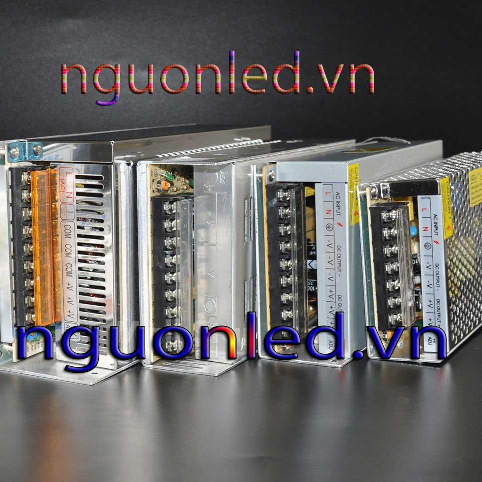 Bộ nguồn tổ ong 24V 15A loại tốt, chất lượng, đủ ampe, giá rẻ, có quạt dùng cho đèn led, tự động hóa, camera, nguonled.vn