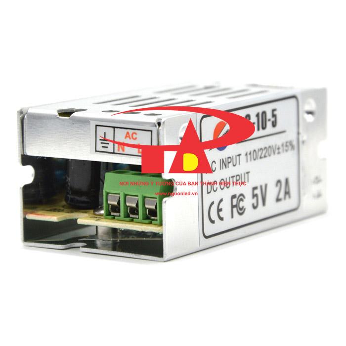 Nguồn 5V 2A loại tốt, giá rẻ, chất lượng, đủ Ampe, BH 1 năm