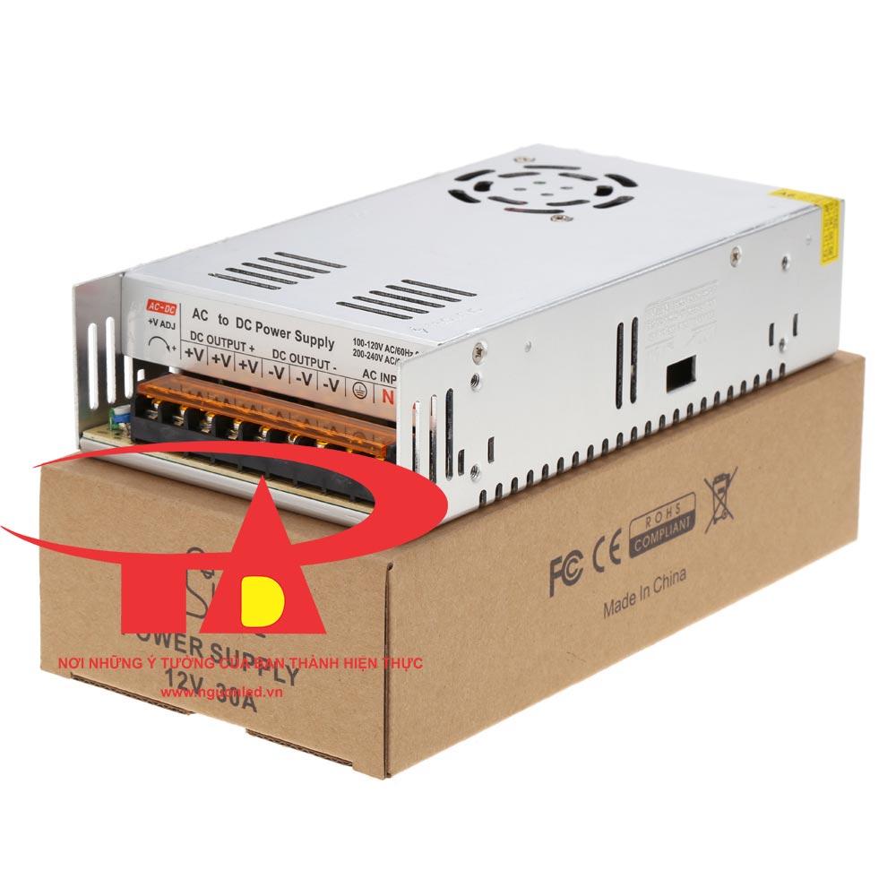 Nguồn tổ ong 5V 60A loại tốt, giá rẻ, chất lượng, đủ ampe, dùng cho camera, đèn led, nguonled.vn