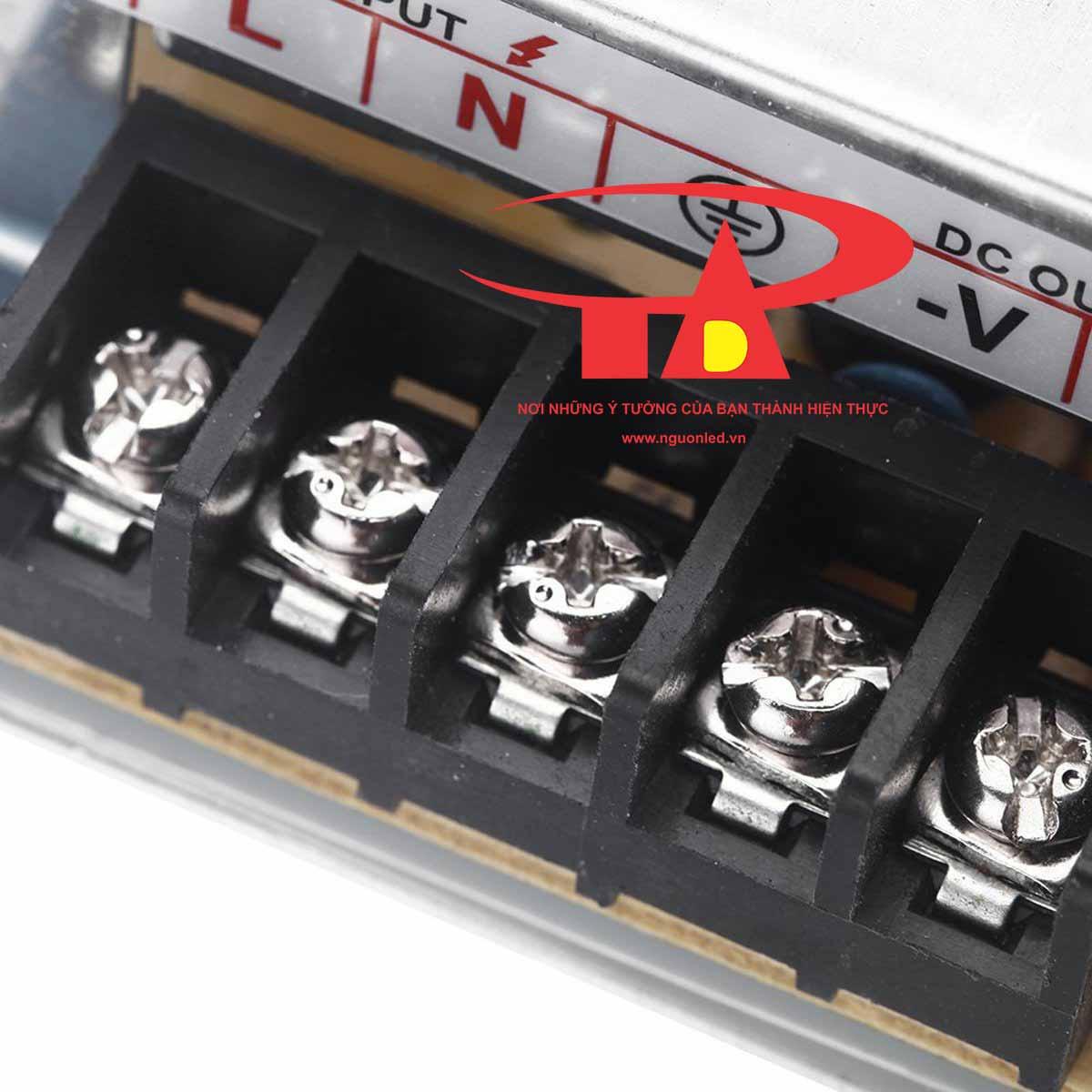 Nguồn Led 5V 6A loại tốt, giá rẻ bảo hành 1 năm, nguonled.vn