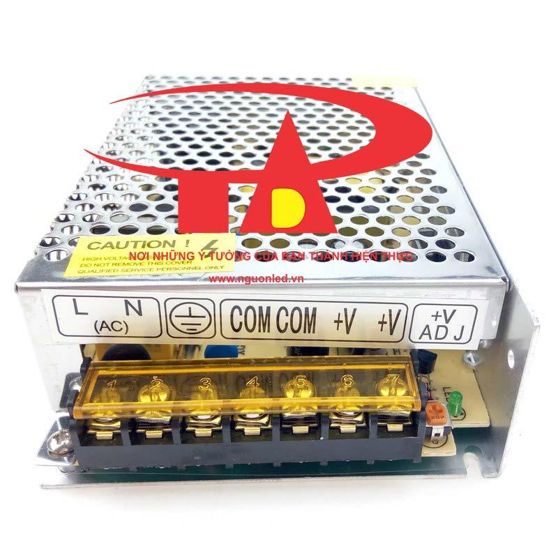 Nguồn led 24v 5A loại tốt dùng cho camera, đèn led và điện công nghiệp mua tại nguonled.vn
