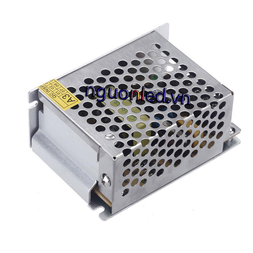 Nguồn led 24v 1A loại tốt dùng cho camera, đèn led và điện công nghiệp mua tại nguonled.vn