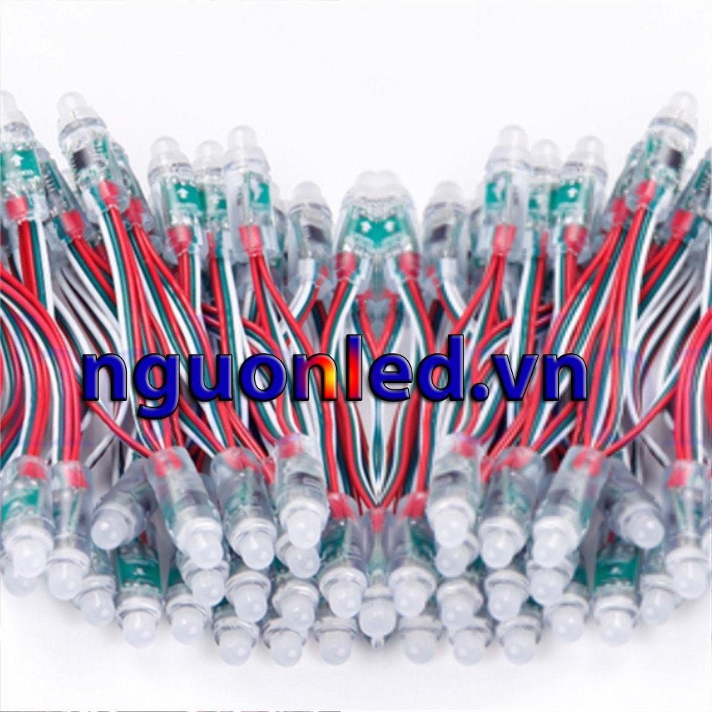 Nguồn led 5V 40A loại tốt, giá rẻ, đủ ampe, có quạt, dùng cho đèn led F8, F5, module P10, nguonled.vn