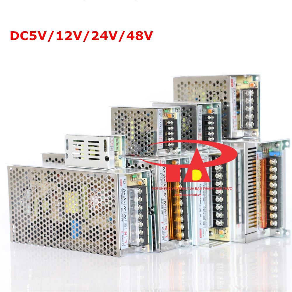 Nguồn tổng camera 12V 15A loại tốt, giá rẻ, chất lượng dùng cho camera, đèn led, nguonled.vn