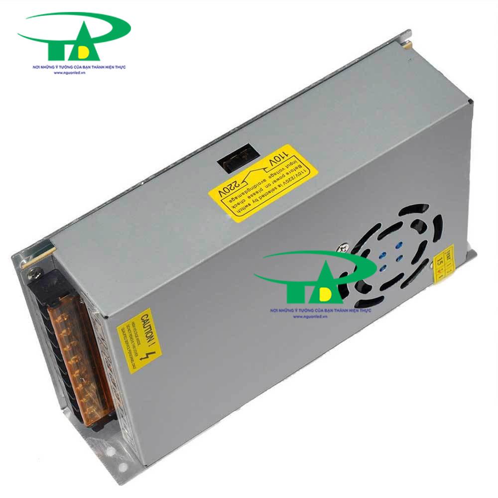 Nguồn 12V 20A có quạt, loại tốt, giá rẻ, đủ ampe, mua tại nguonled.vn