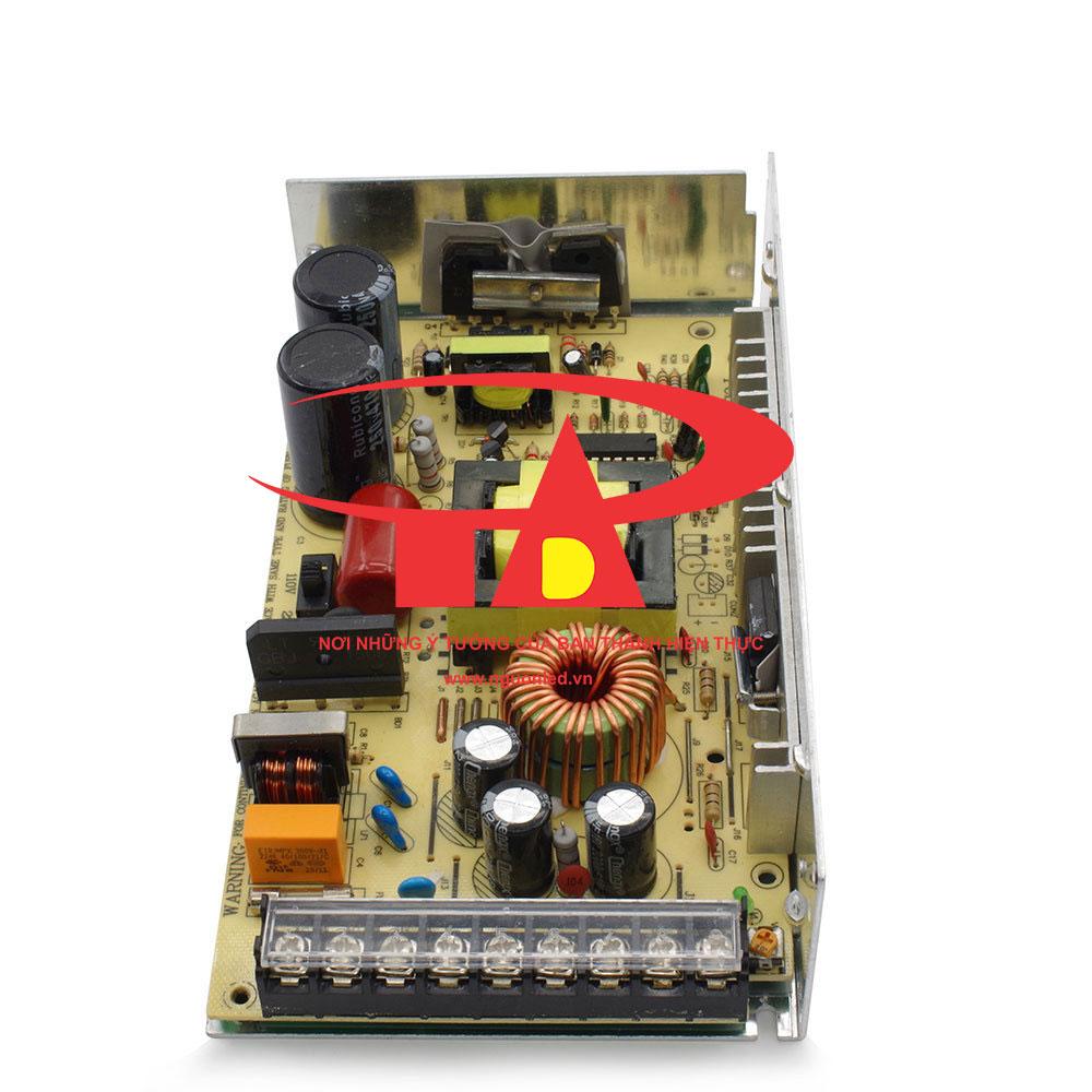 Nguồn tổng 12V 20A không quạt loại tốt, giá rẻ, dùng cho camera, đèn led, nguonled.vn