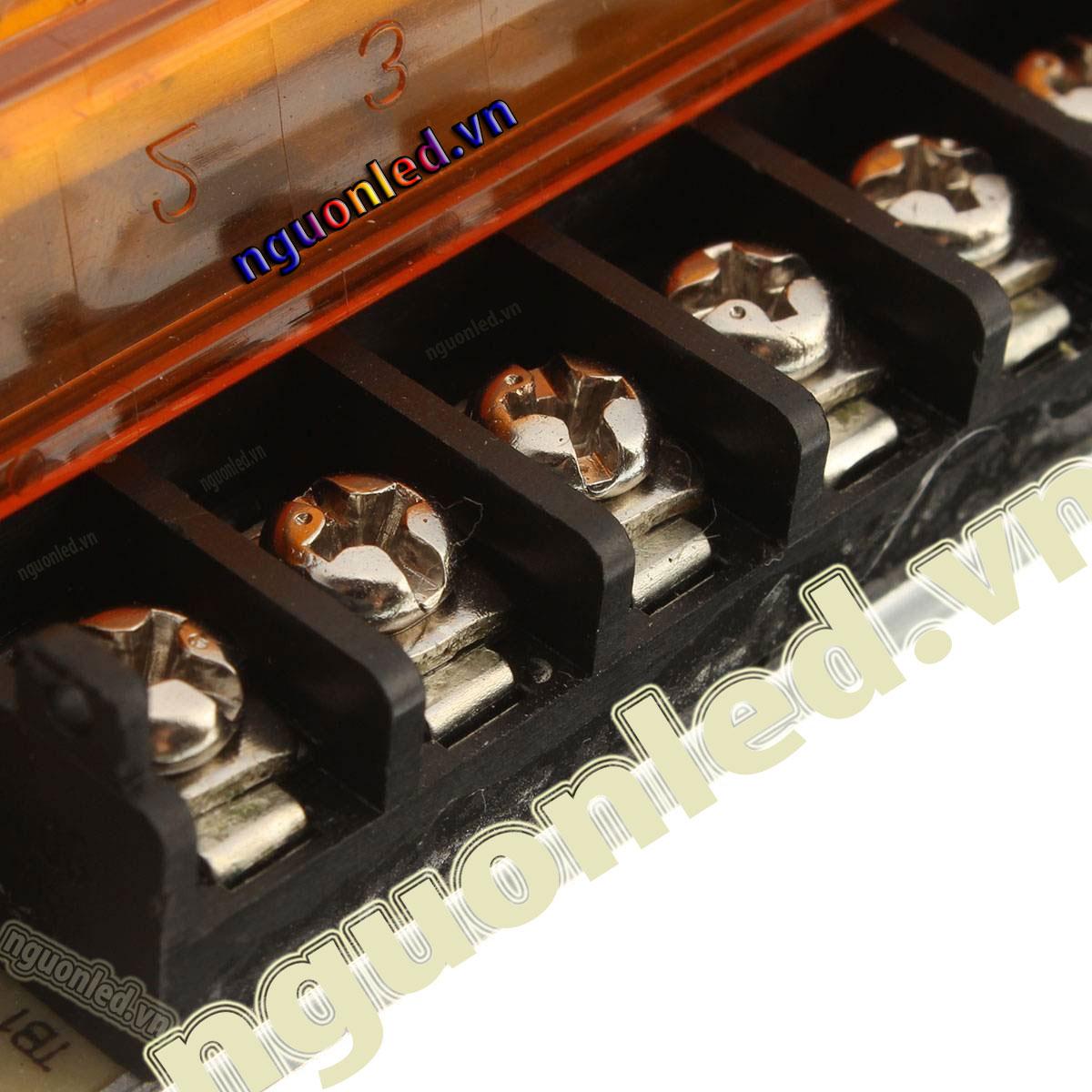 Nguồn led 12v 33A loại tốt dùng cho camera, đèn led và điện công nghiệp