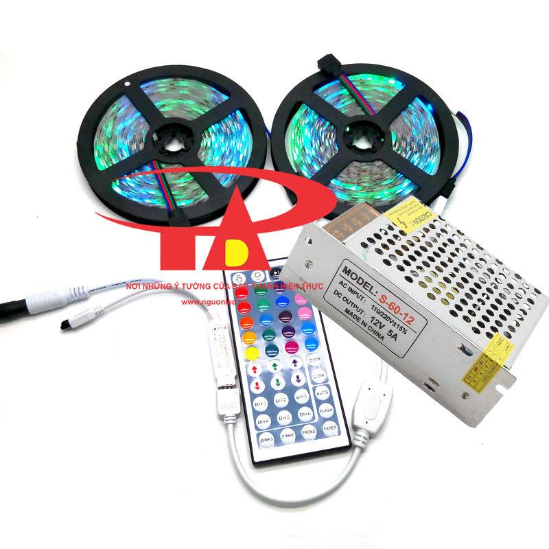 Nguồn tổng 12V 5A, loại tốt, giá rẻ, dùng cho camera, đèn led, tự động hóa, nguonled.vn