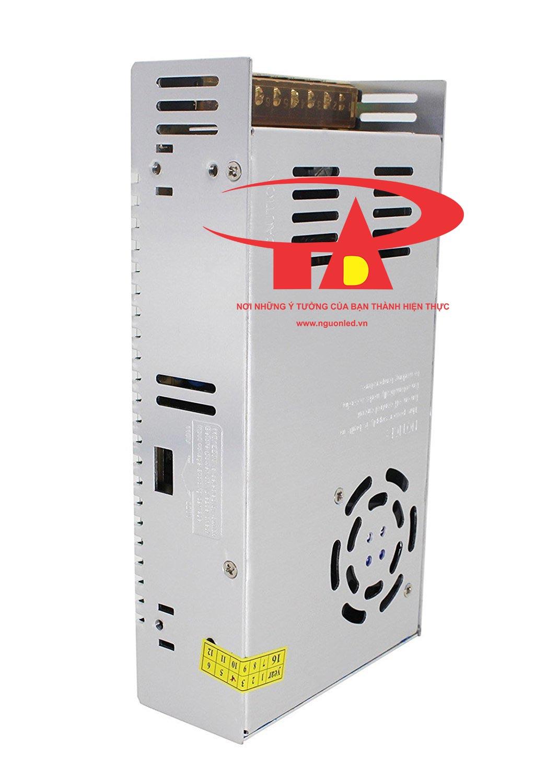 Nguồn tổng DC24V 15A loại tốt, chất lượng, đủ ampe, giá rẻ, có quạt dùng cho đèn led, tự động hóa, camera, nguonled.vn