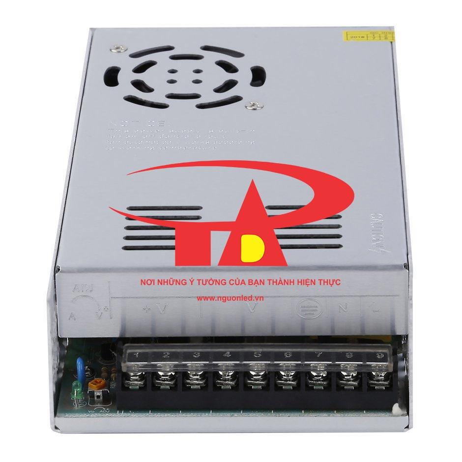 Nguồn led 5V 70A loại tốt, giá rẻ, chất lượng, đủ Ampe, BH 1 năm, dùng cấp nguồn 5V cho đèn led F8, P10, camera, bơm mini, tự động hóa