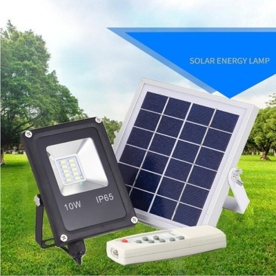 SOLAR FLOOD LIGHT 10W