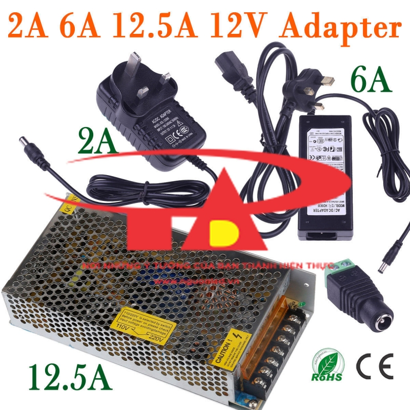 Adapter 12V 5A Sony