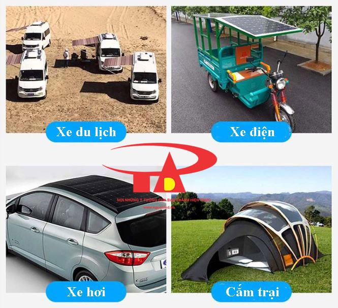 ứng dụng tấm pin năng lượng mặt trời công suất lớn, tiết kiệm điện