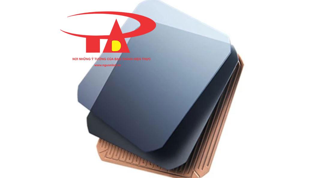 tấm pin năng lượng mặt trời 100w giá rẻ, công suất mạnh