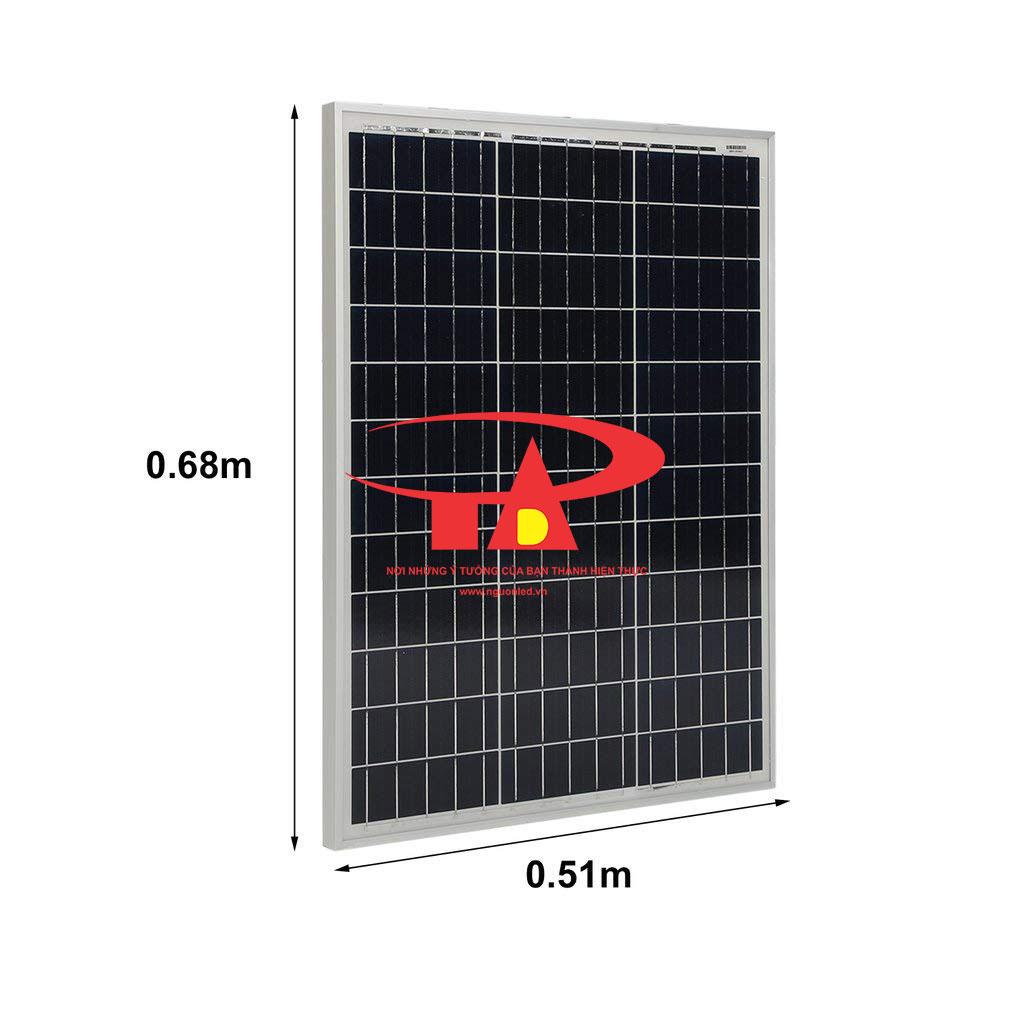 tấm pin năng lượng mặt trời 50w loại tốt, giá rẻ tại TPHCM