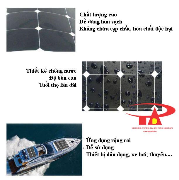 ưu điểm tấm pin năng lượng mặt trời 50w chất lượng cao
